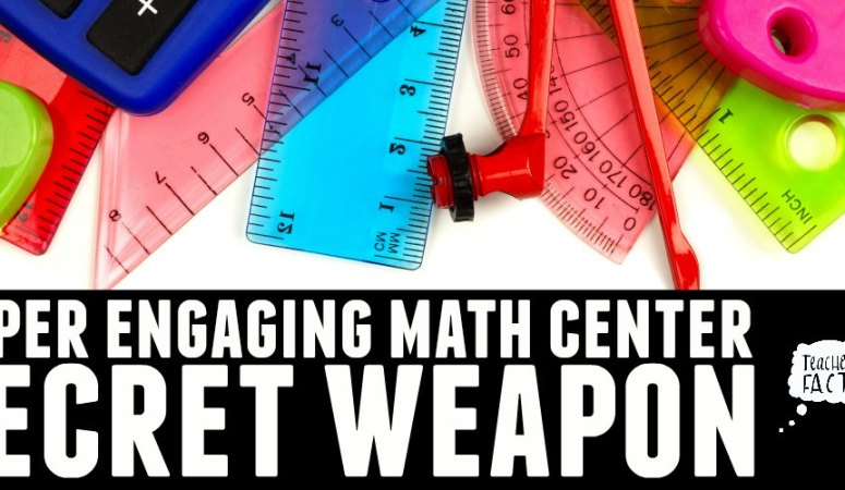 ENGAGING MATH CENTER SECRET WEAPON