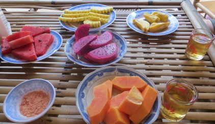 Selection of fruits