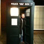 Me in The Tardis