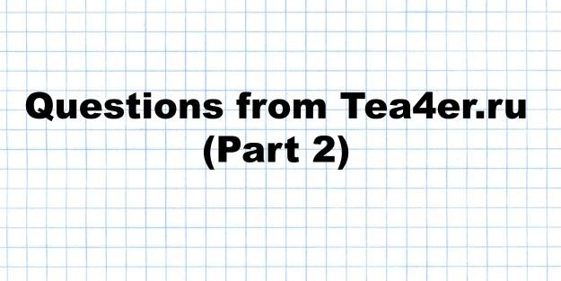 Tea4er part2