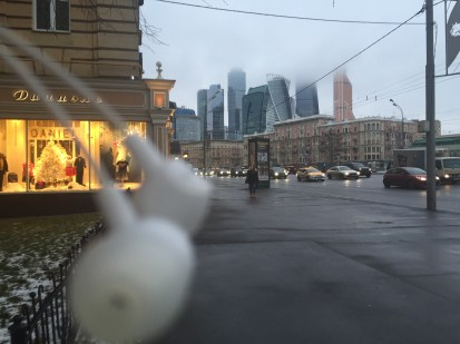 Marina in Moscow