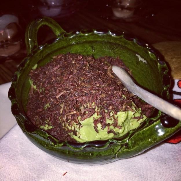 grasshopper-guacamole