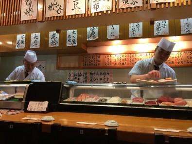 Sushi at Tsukiji Market