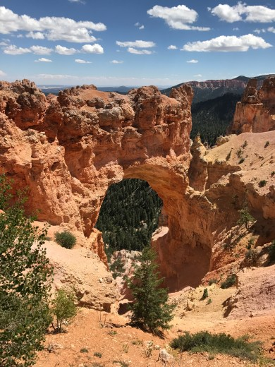 Bryce Canyon, natural bridge