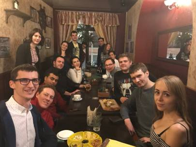 Moscow LEPsters with visitors from Jordan and Turkey