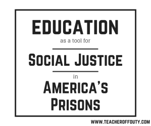 With 1 in every 50 children having a parent in prison in the US, mass incarceration is something that touches almost every American classroom. While the reality is grim, there are ways to help. Learn why supporting prison education is critical to alleviating collateral damage, and what teachers can do to help. #socialjustice #equity #teachingforsocialjustice #prisoneducation