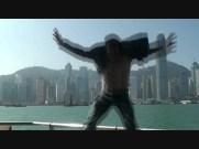 Landing in Hong Kong