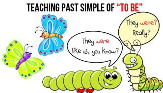English Grammar – How To Teach Past Simple Of To Be
