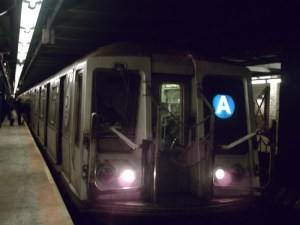 RIding the A
