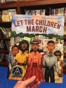 Let the Children March by Monica Clark-Robinson and illustrated by Frank Morrison