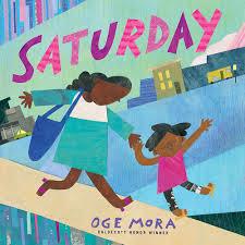 Oge Mora reads aloud Saturday