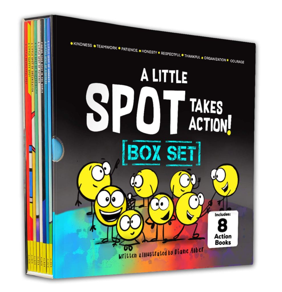 A Little Spot Takes Action Series