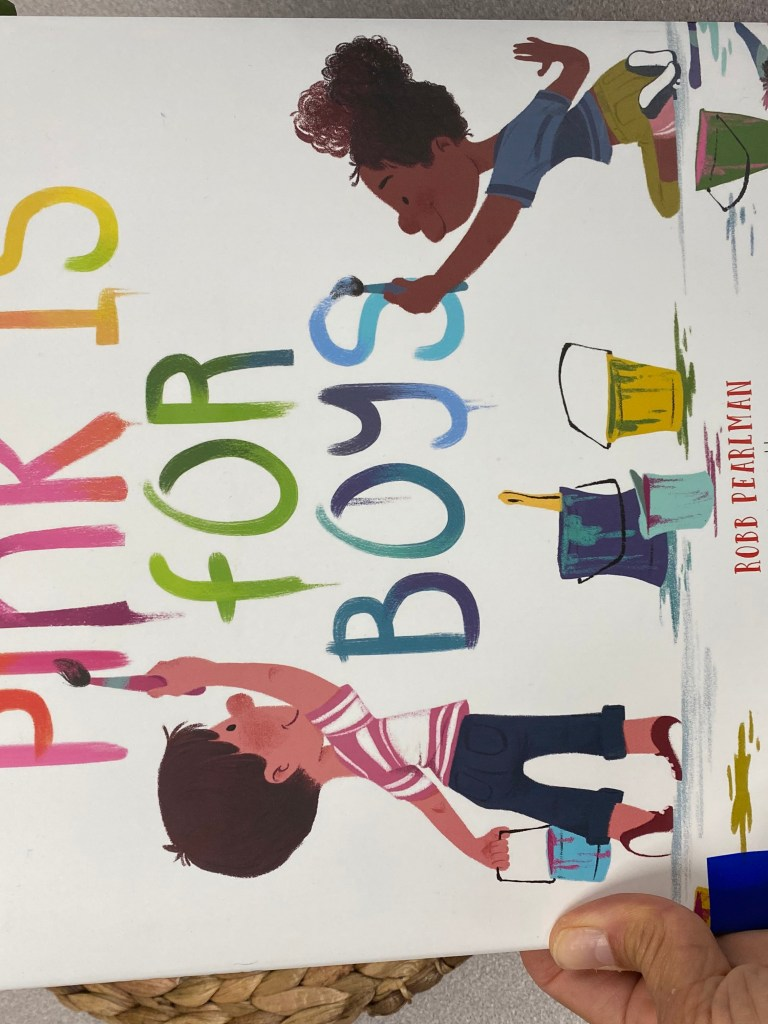 Pink is for Boys by Robb Pearlman
