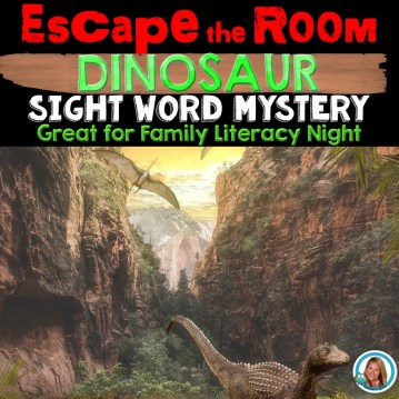 Escape Room Sight Word Mystery Literacy Night