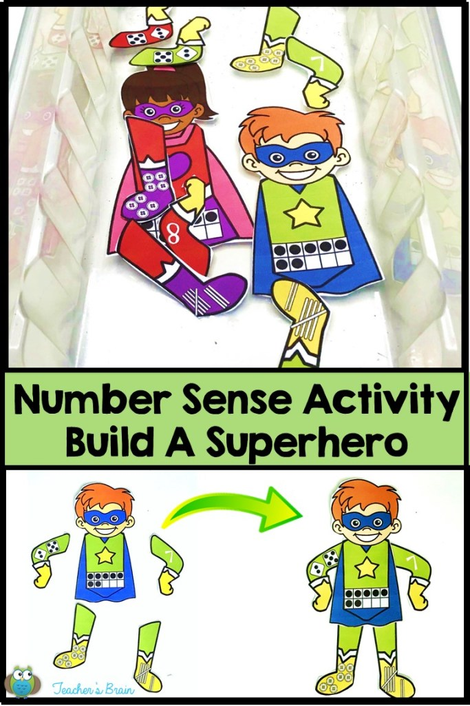 Number Sense Activity for Kids
