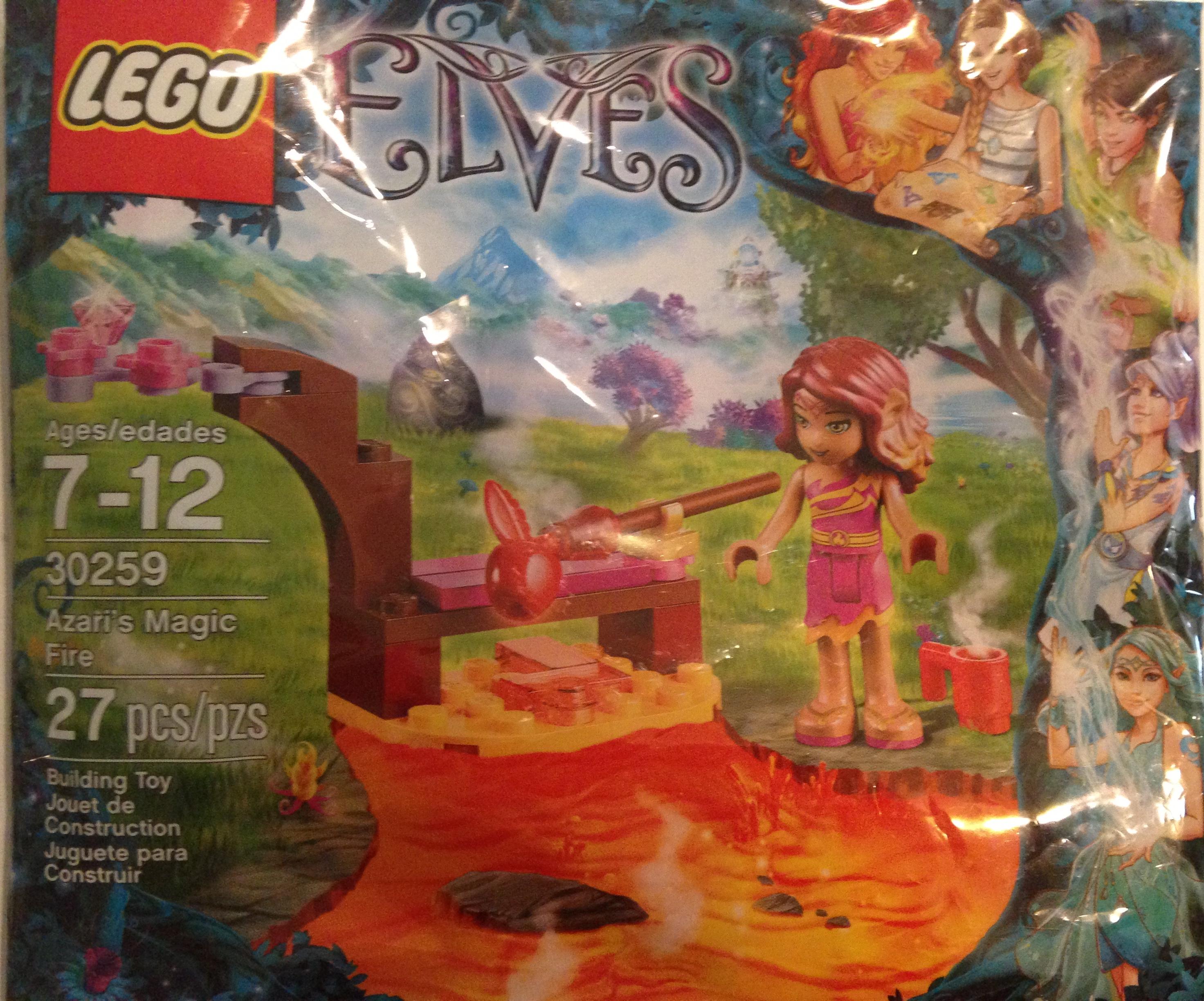 Lego Elves Azaris Magic Fire Set 30259 For Parents