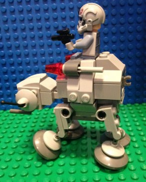 Lego, Star Wars, AT-AT, microfighters
