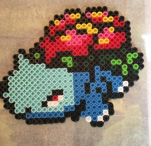Vensaur Pokemon Perler Bead Pattern