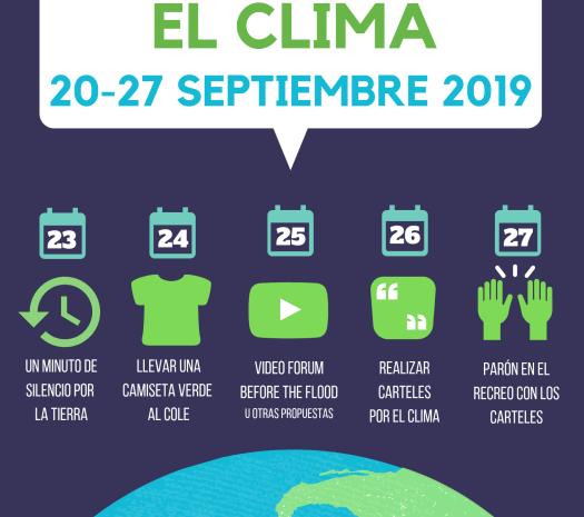 Semana de Movilización por el Clima #SemanaporelClima