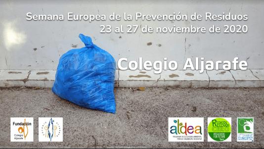 Semana Europea de Prevención de Residuos y Recreos Residuo Cero