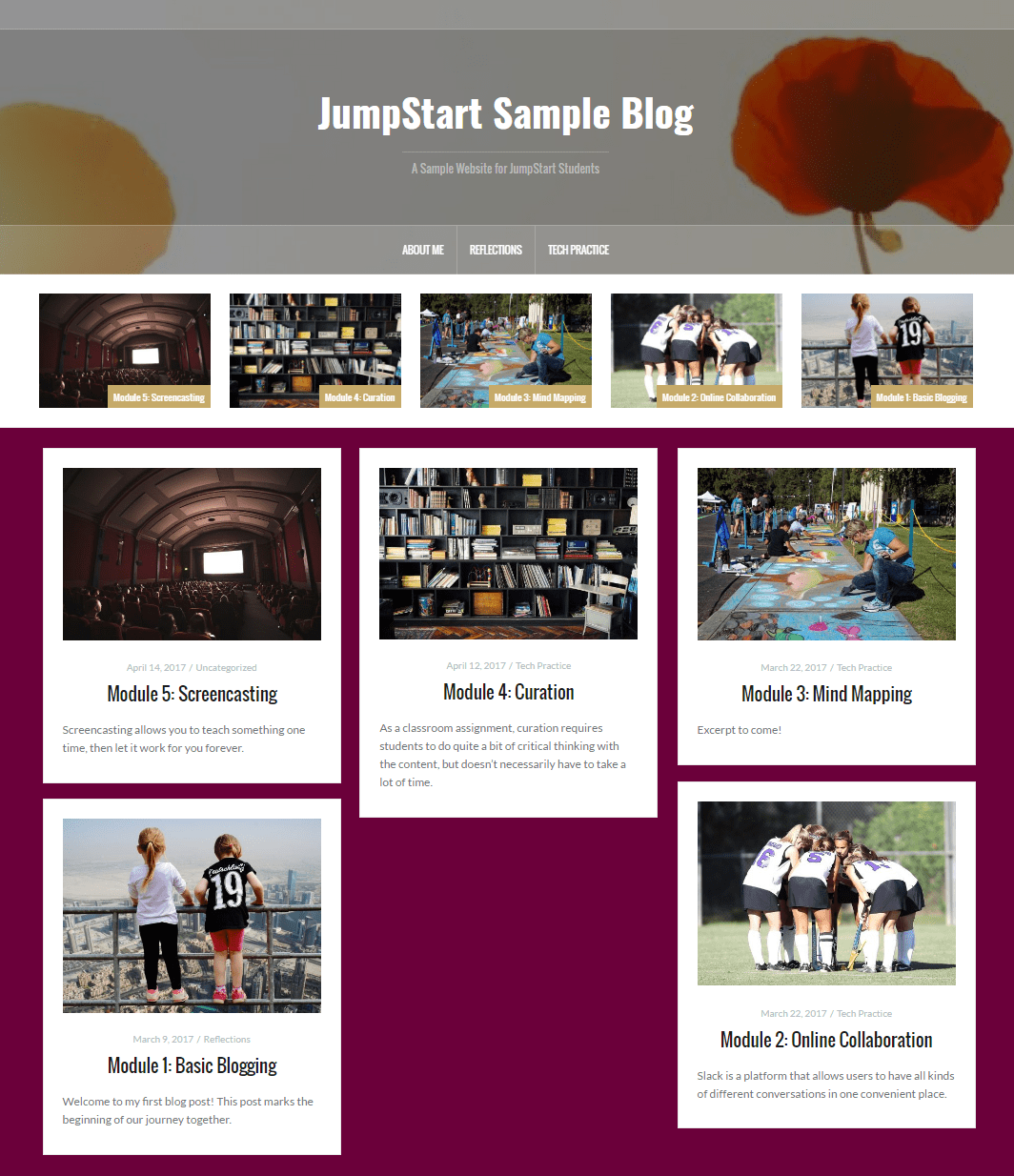 JumpStart: A Technology Course for Thoughtful Educators