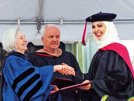 First Emirati Woman Harvard