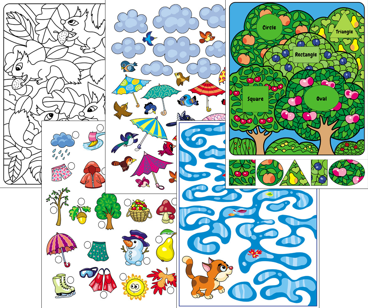 Autumn Worksheets For The Classroom Or At Home