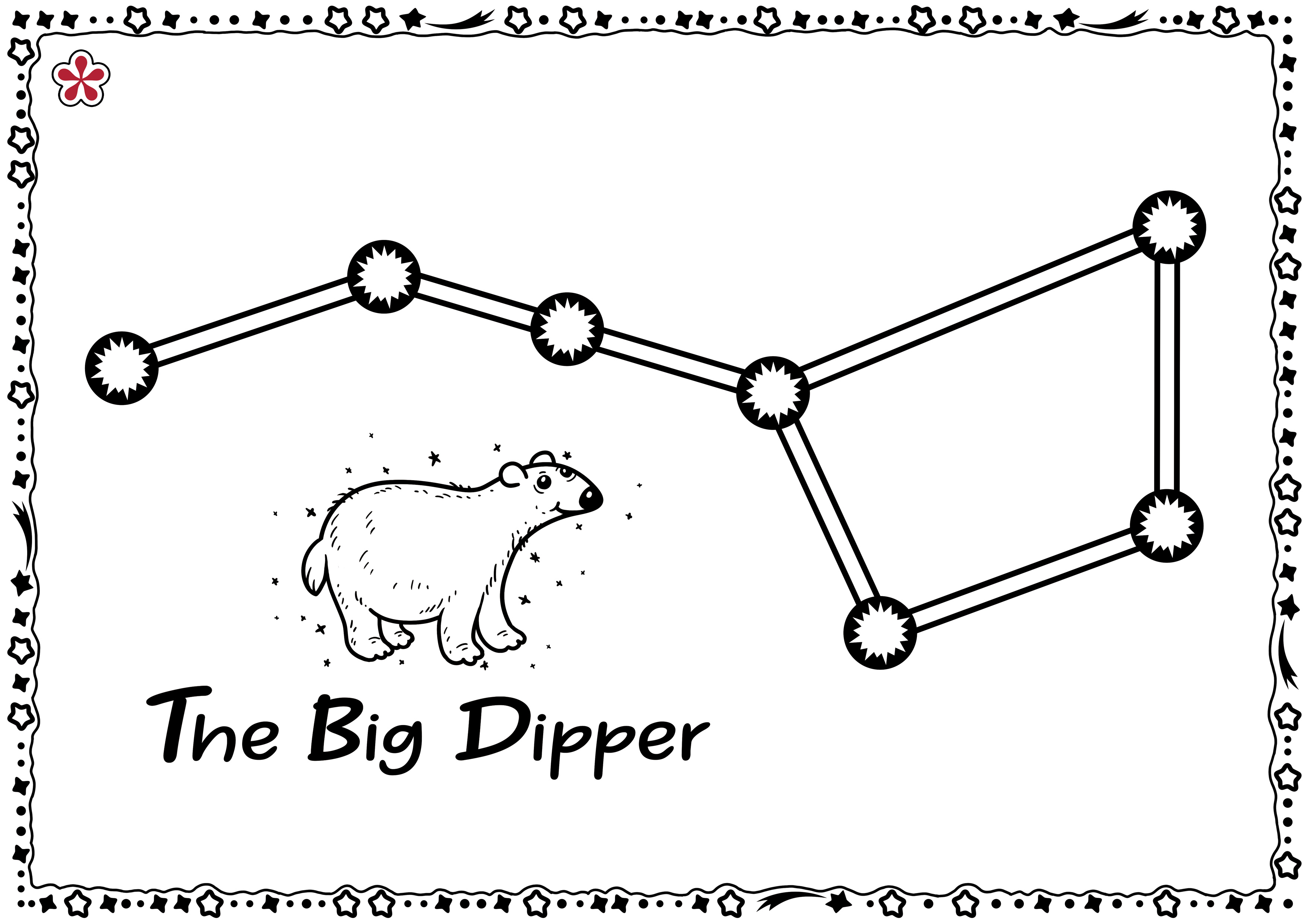Constellation Templates For Kids