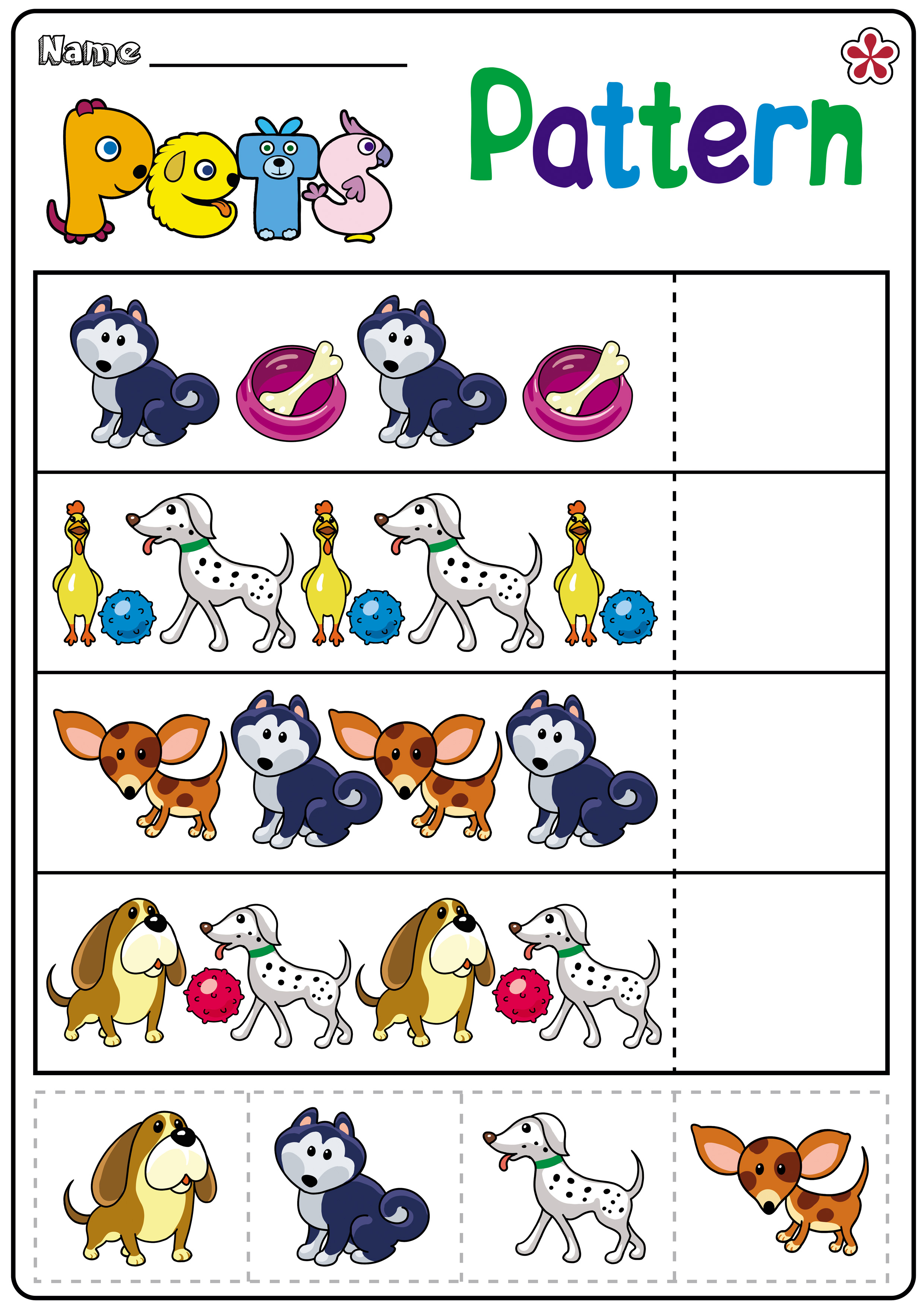 Pet Worksheets And Activities For Kindergarten