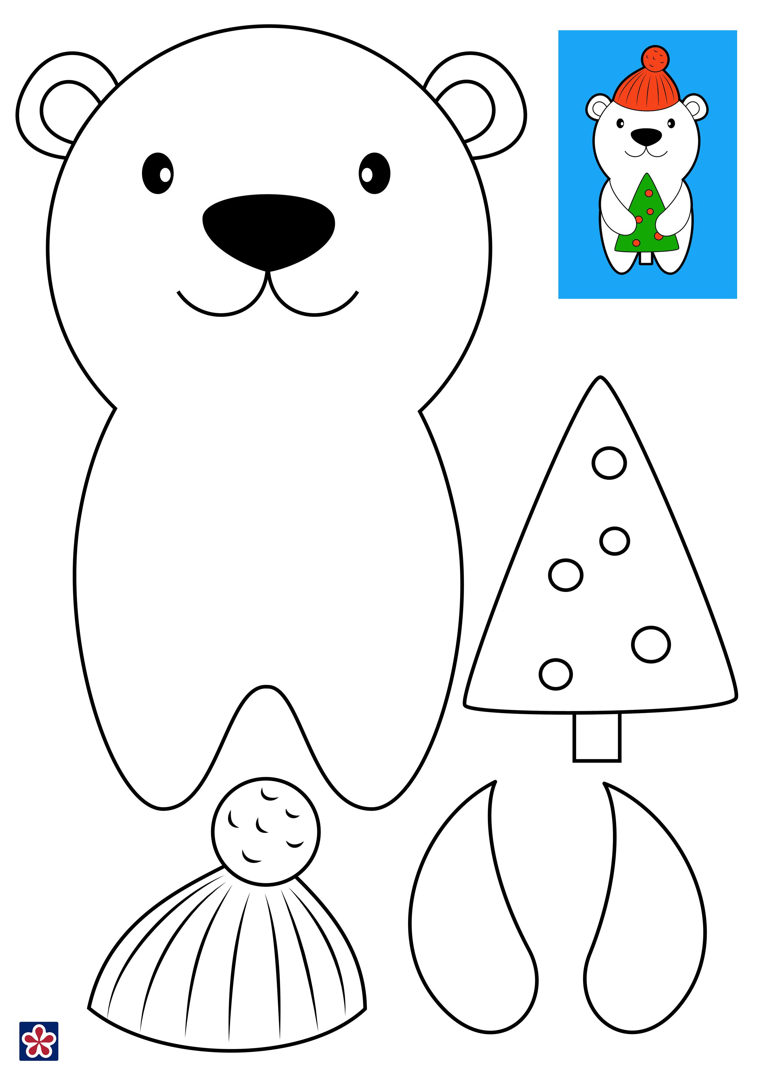 Bear Craft Templates
