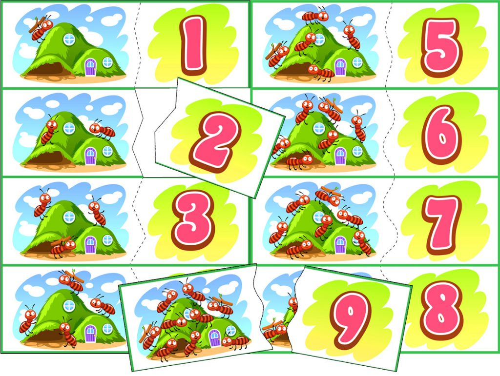 Ant Counting And Matching Activity Teachersmag