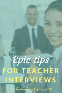 Have you read up on how to prepare for a teaching interview? It's definitely more valuable to hear from someone on a hiring committee and know exactly what types of answers they're looking for! Here are some of the more common interview questions and advice on what types of answers you should prepare. first year teacher   teaching interview   interview tips   how to prepare for an interview   beginning teacher   first teaching job interview   interview answers   interview questions