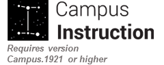 Campus Instruction Feature 1921