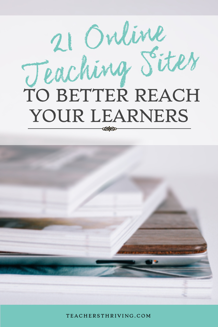21 Online Teaching Sites
