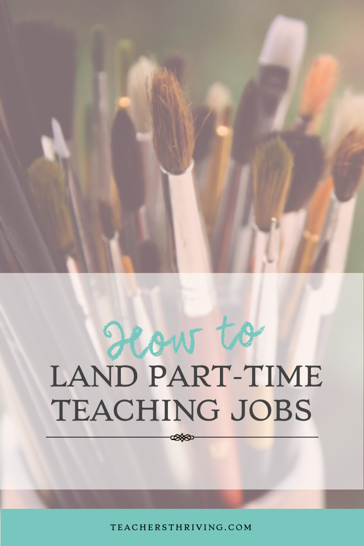 How to Land Part-time Teaching Jobs