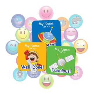 Space Square Sticker Gift Pack