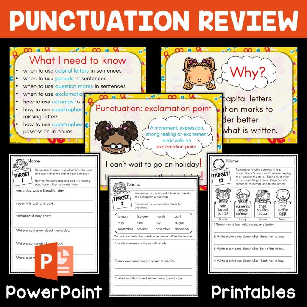 Fun Ways To Teach Punctuation