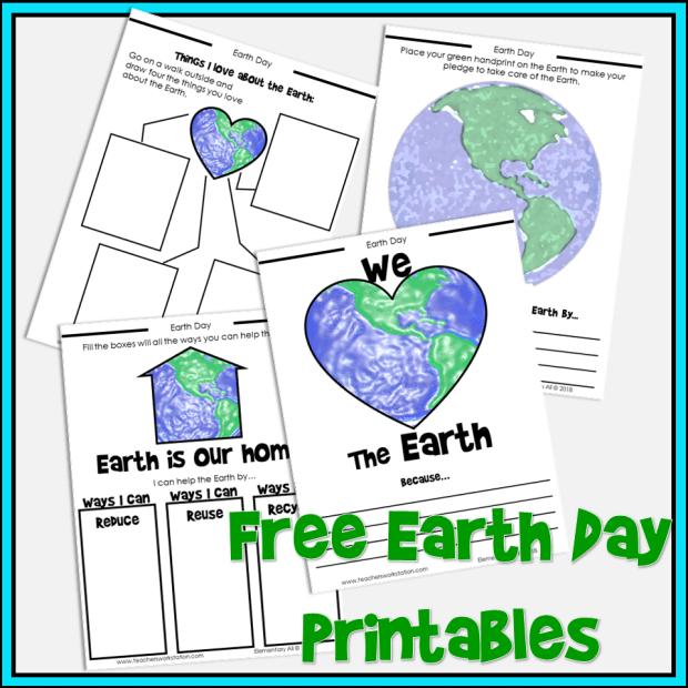 Earth Day upper elementary