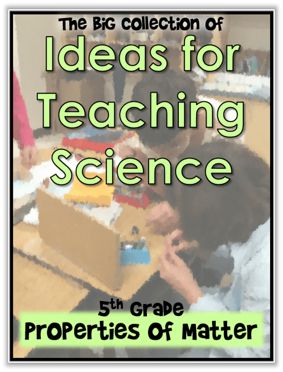 ideas for teaching science cover 5th properties