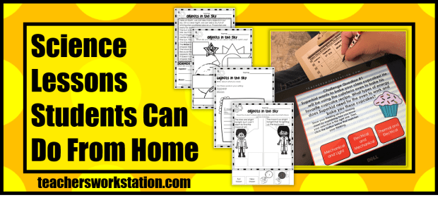 science lessons from home blog