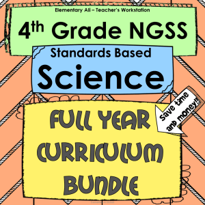 NGSS Bundle 4th grade cover