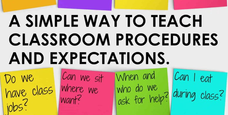 "You will love this simple way to ""sneak in"" direct instruction of classroom procedures and expectations."