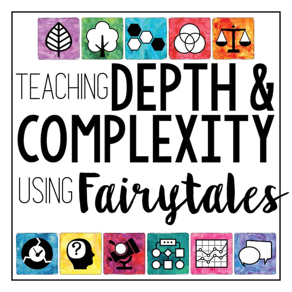 This is a picture of Sizzling Depth and Complexity Icons Printable