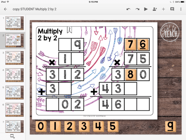 multiply 2 by 2