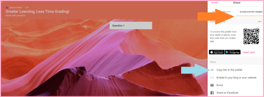 Use Padlet to spend Less Time Grading