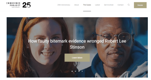 Forensic DNA evidence exonerates the wrongly convicted