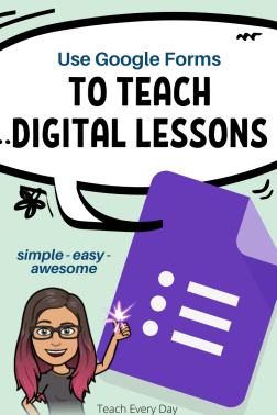 How to make Digital Lessons easily with Google Forms!
