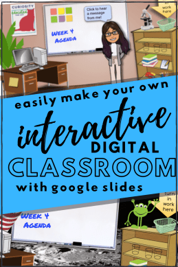 Create your own bitmoji virtual classroom with Google Slides!