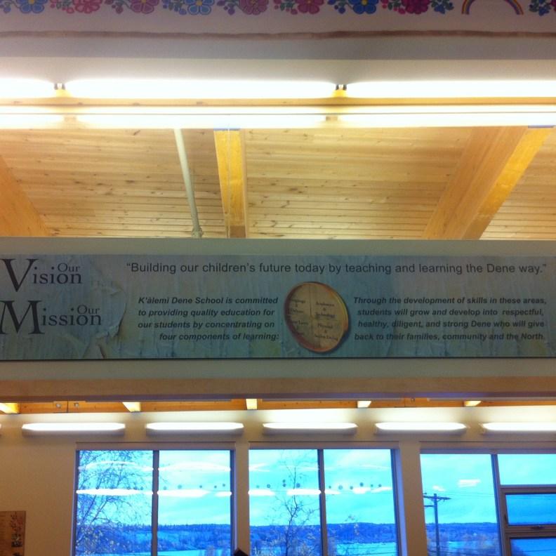The schools' mission statement.