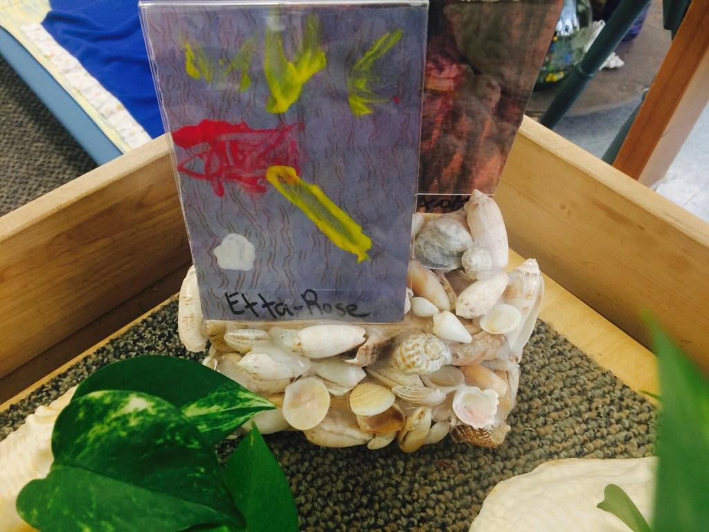 So many interesting ways to display children's artwork!